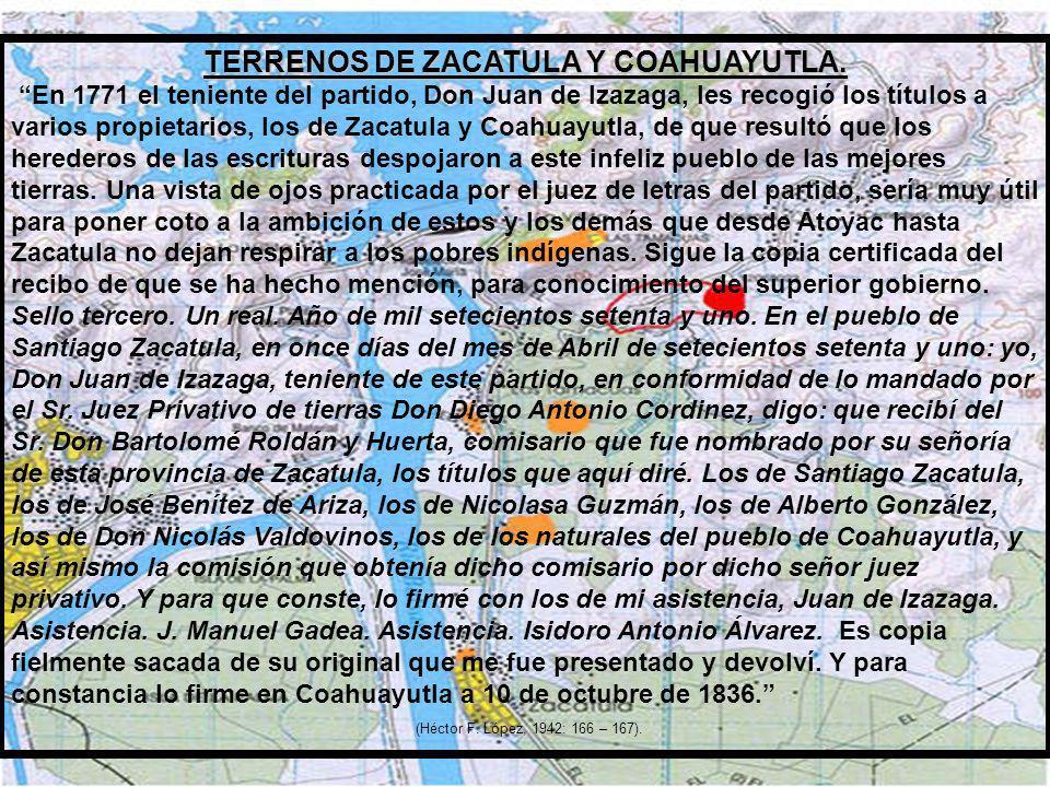1763. EPIDEMIA DE VIRUELA EN LA REGIÓN. (Enciclopedia de México, José Rogelio Álvarez, Editada por la Enciclopedia Británica, 1993; 5364). 1765. NACE