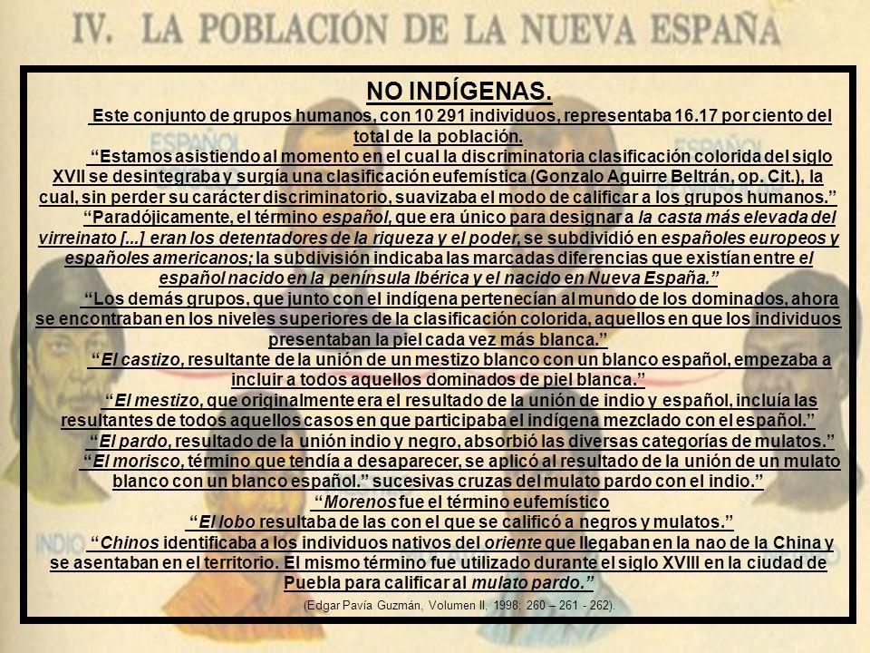 1741-1745. CENSO DEL TERRITORIO GUERRERENSE. Para los años 1741 - 1745 la población indígena del territorio se estima en 53 325 individuos - hombres,