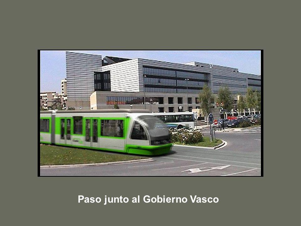 Paso junto al Gobierno Vasco