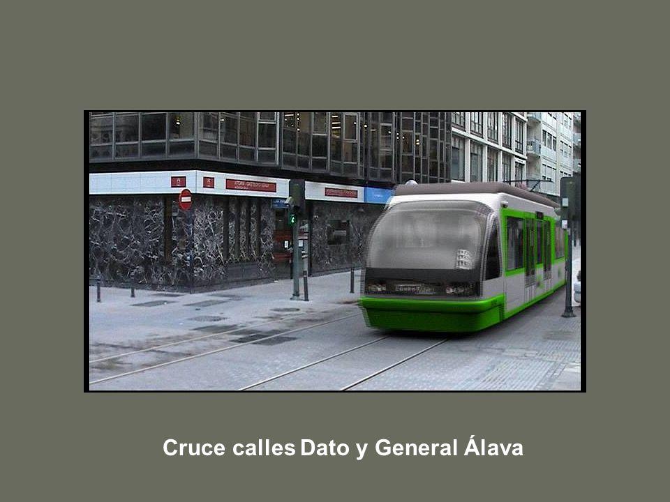 Cruce calles Dato y General Álava