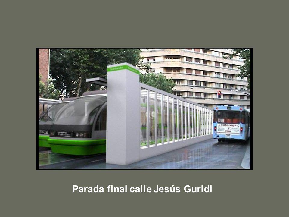 Parada final calle Jesús Guridi