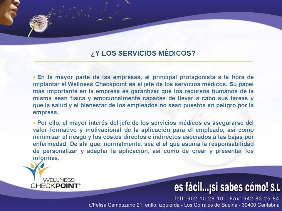 ¿Y LOS SERVICIOS MÉDICOS.