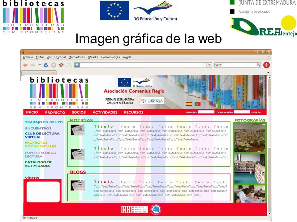 Imagen gráfica de la web