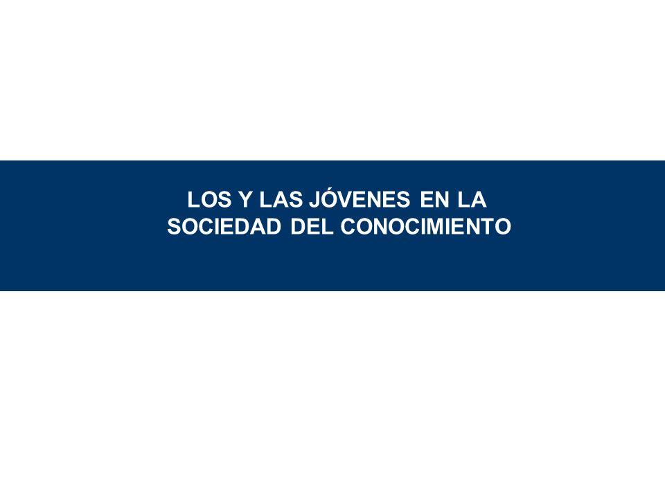 LOS Y LAS JÓVENES EN LA SOCIEDAD DEL CONOCIMIENTO