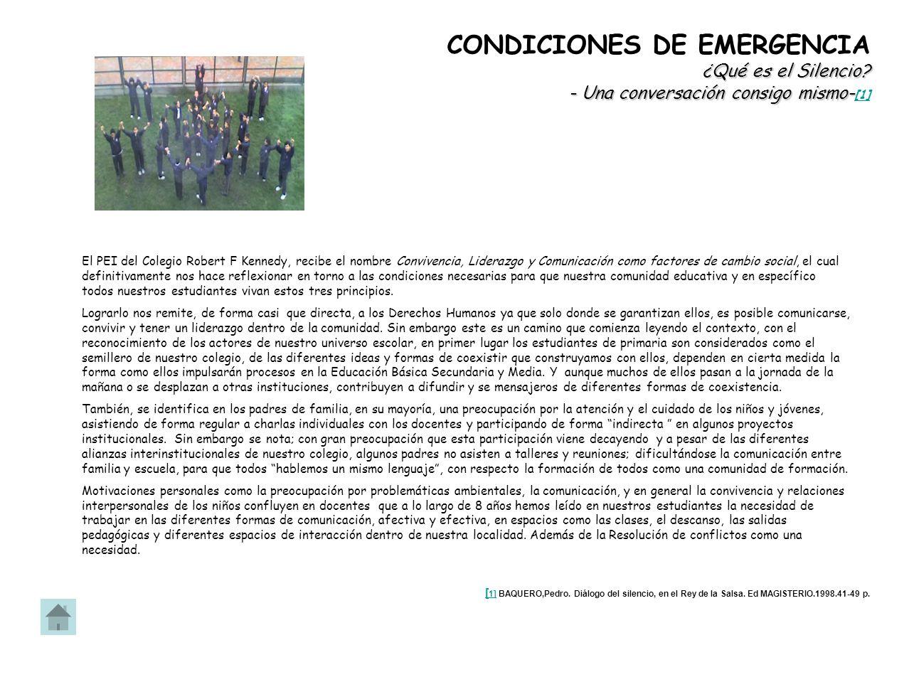 PEQUEÑOS DEFENSORES DEL AGUA Propósito Fomentar la participación y comunicación de reflexión sobre problemas ambientales con niños y jóvenes de otros colegios de Bogotá.