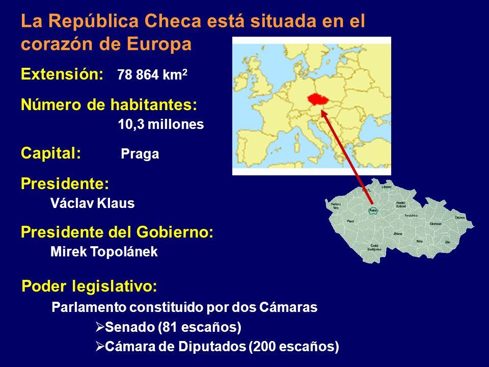 Embajada de la República Checa en Madrid www.mfa.cz/madrid Ministerio de Industria y Comercio www.mpo.cz La República Checa: Su Socio Económico y Come