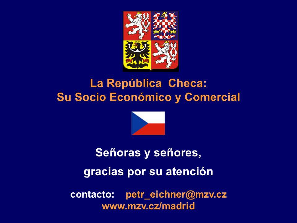 Otros: Confederación de Industrias y transporte www.spcr.cz Cámara de Economía de la República Checa www.komora.cz Información sobre Ferias Internacio
