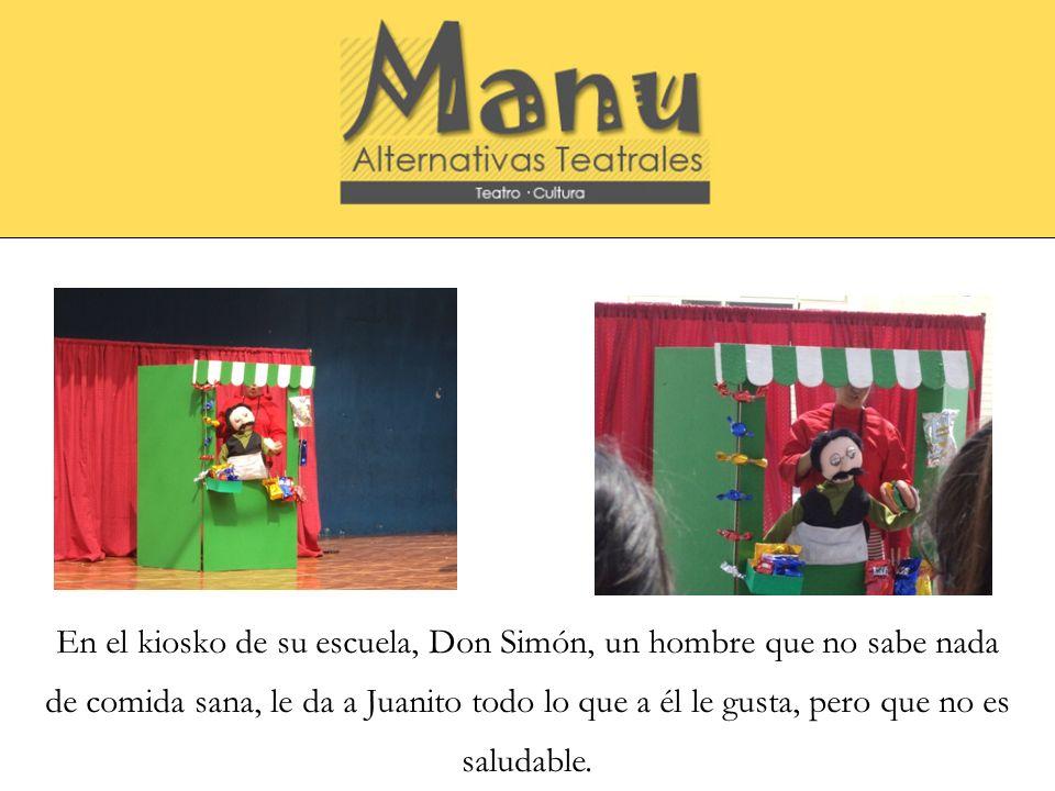 Pero para suerte de Juanito y don Simón aparece Igor, el gato que hace ejercicio y come saludable para vivir con vigor, que le enseñará a ambos la importancia de la vida sana.