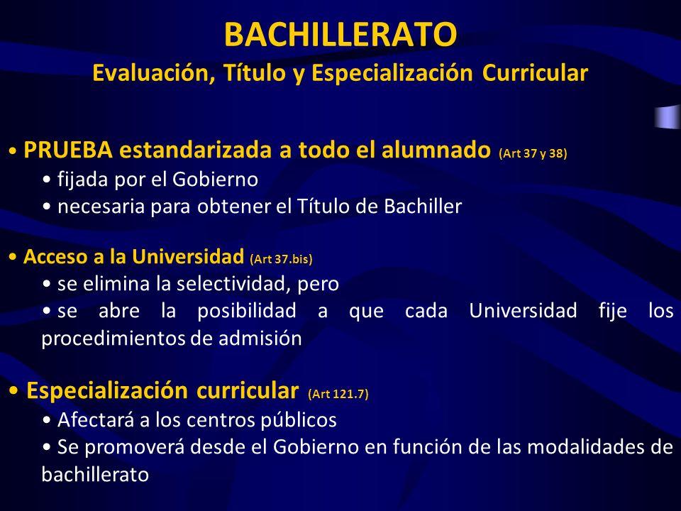 ACCESO A LA UNIVERSIDAD Antes una vez obtenido el título de Bachiller se optaba a la Selectividad como medio de obtener una nota que permitiese acceder a las especialidades universitarias.