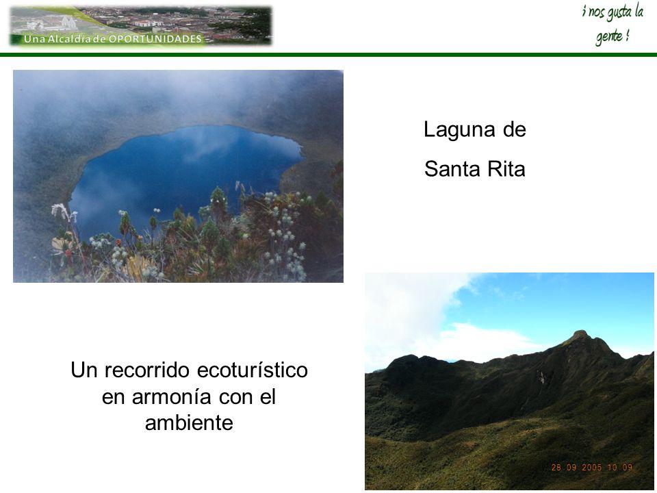 Laguna de Santa Rita Un recorrido ecoturístico en armonía con el ambiente
