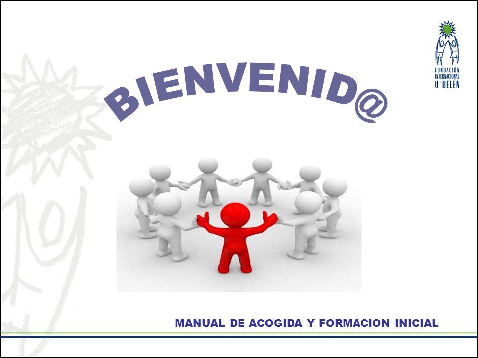 MANUAL DE ACOGIDA Y FORMACION INICIAL