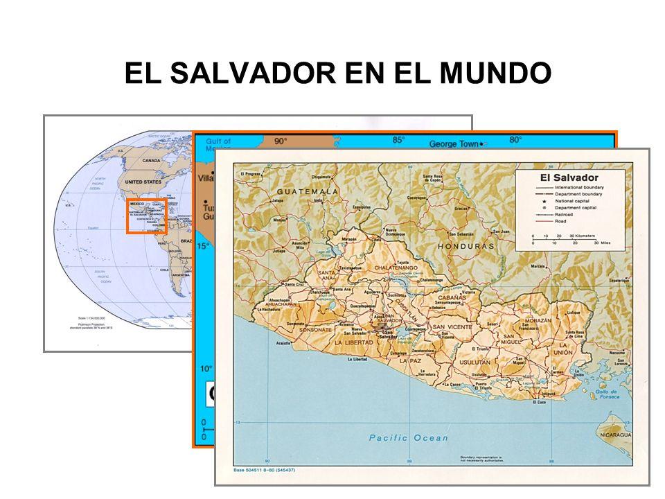 EL SALVADOR EN EL MUNDO