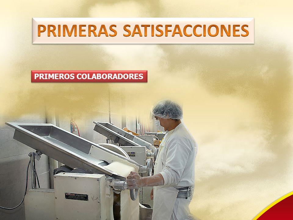 PRIMEROS COLABORADORES