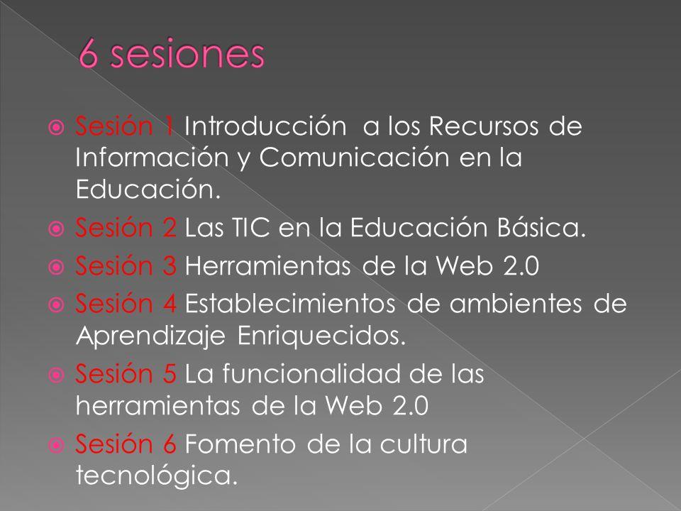Sesión 1 Introducción a los Recursos de Información y Comunicación en la Educación.