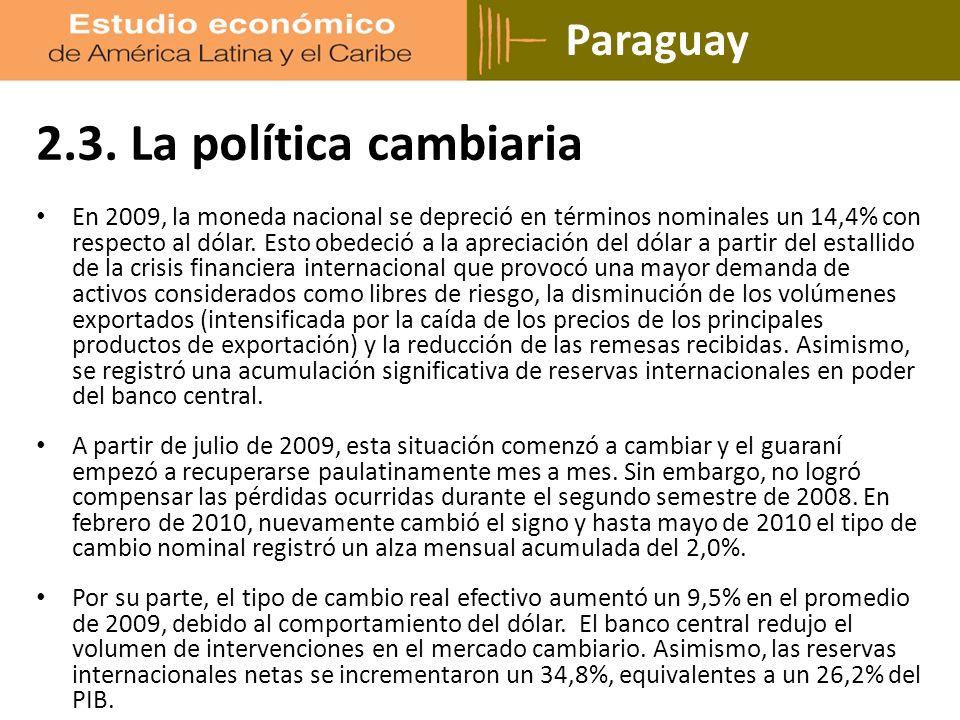 Paraguay 2.3.
