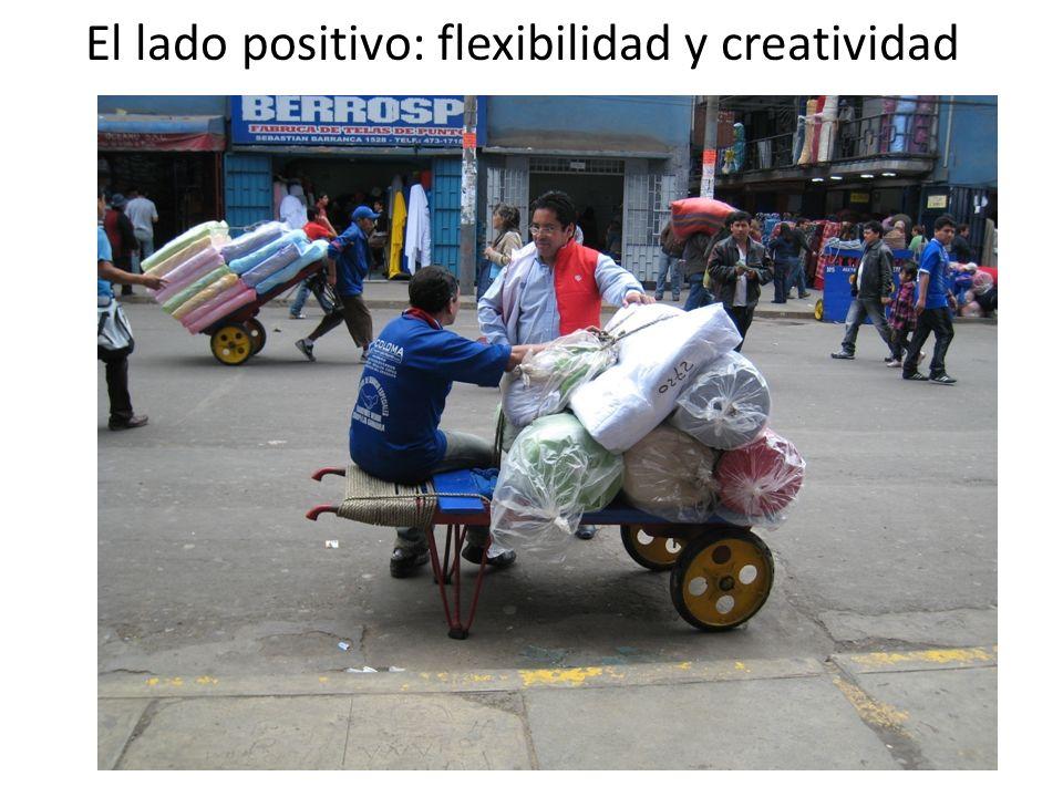 El lado positivo: flexibilidad y creatividad