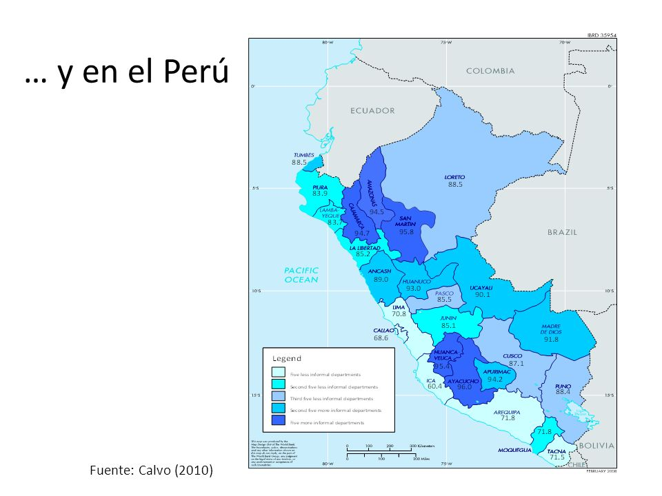 … y en el Perú Fuente: Calvo (2010)