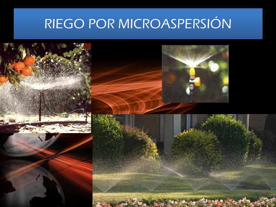 RIEGO POR MICROASPERSIÓN
