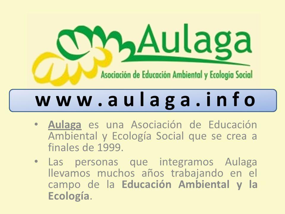 Aulaga es una Asociación de Educación Ambiental y Ecología Social que se crea a finales de 1999. Las personas que integramos Aulaga llevamos muchos añ