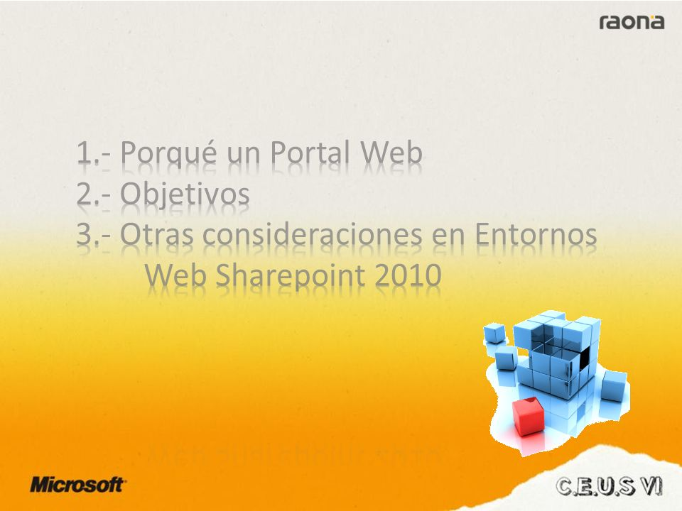 Porqué un «Portal Web»? ¿?
