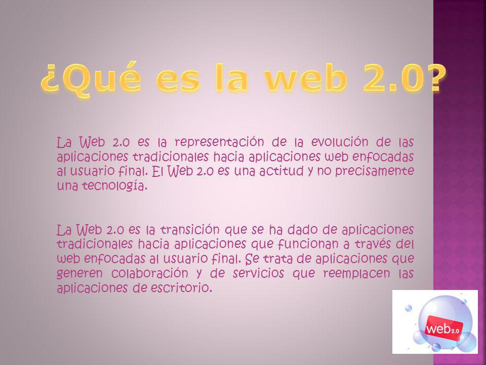 ¿Qué es la web 2.0? Web 2.0 y educación Tipos de herramientas web 2.0 Herramientas y ejemplos de aplicación ¿Dónde buscar aplicaciones Web 2.0?