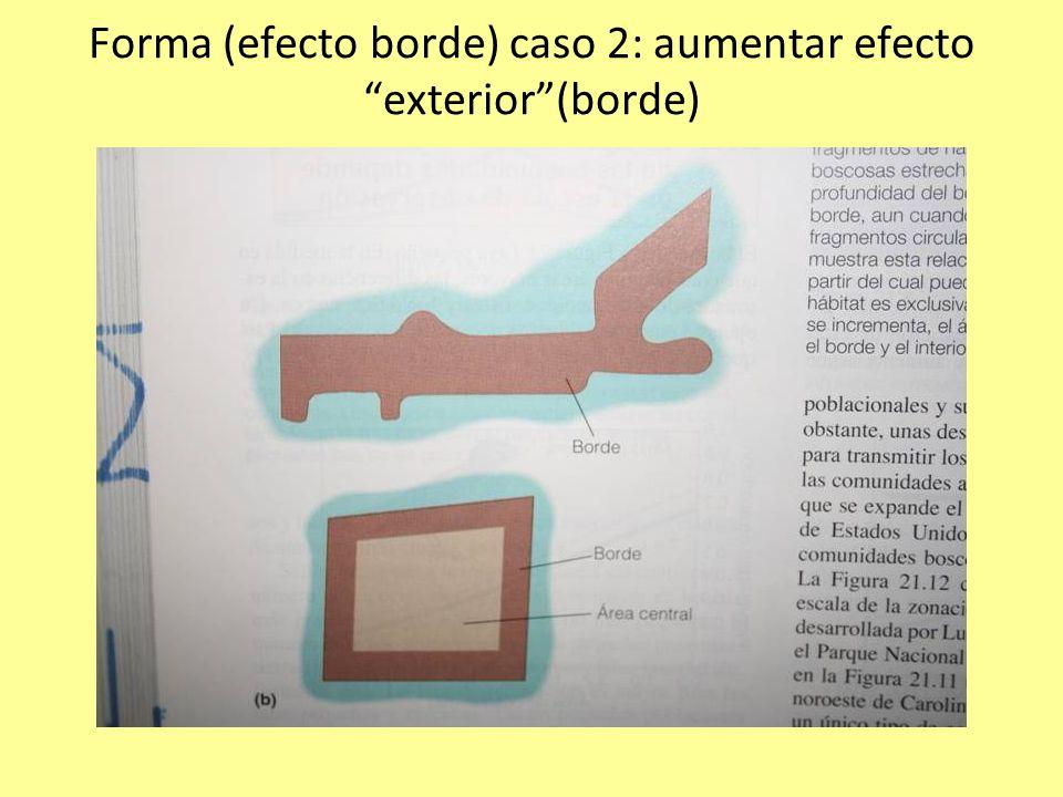 Forma (efecto borde) caso 2: aumentar efecto exterior(borde)