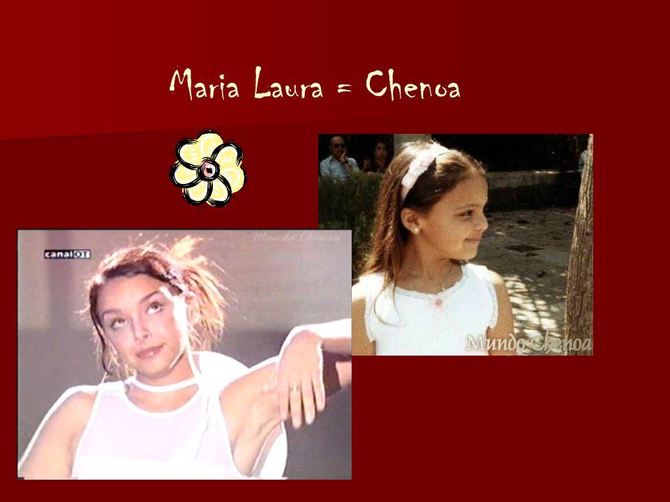 Maria Laura = Chenoa