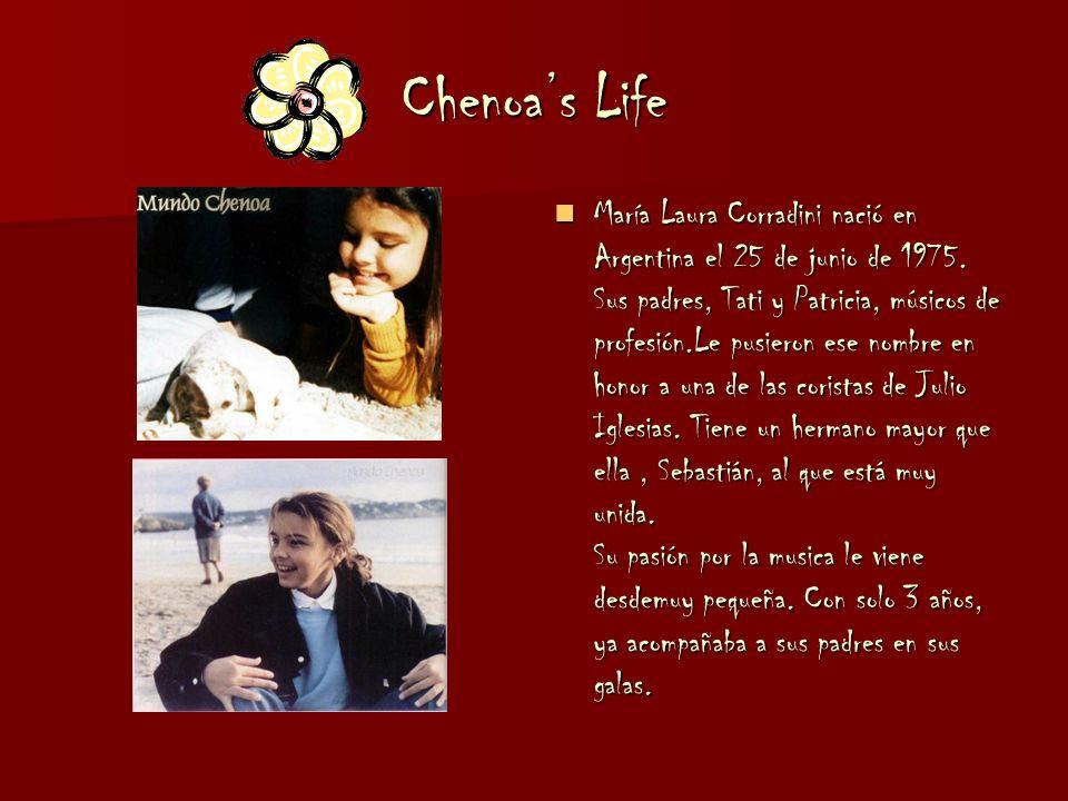 Chenoas Life María Laura Corradini nació en Argentina el 25 de junio de 1975.