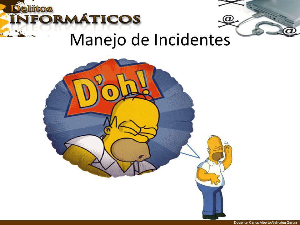 Docente: Carlos Alberto Atehortúa García Manejo de Incidentes Guillermo esta muerto en el piso de su cuarto, alrededor de él hay agua y vidrios rotos,