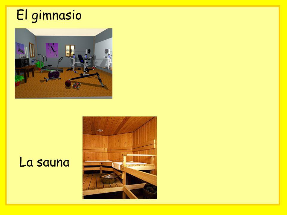 El gimnasio La sauna