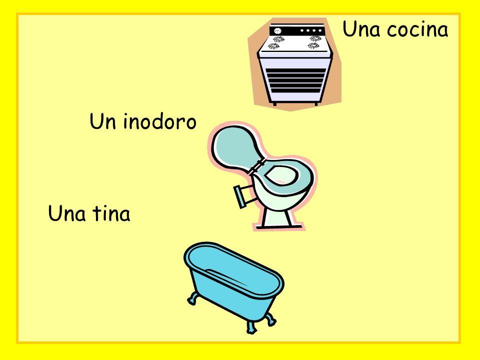 Una cocina Un inodoro Una tina