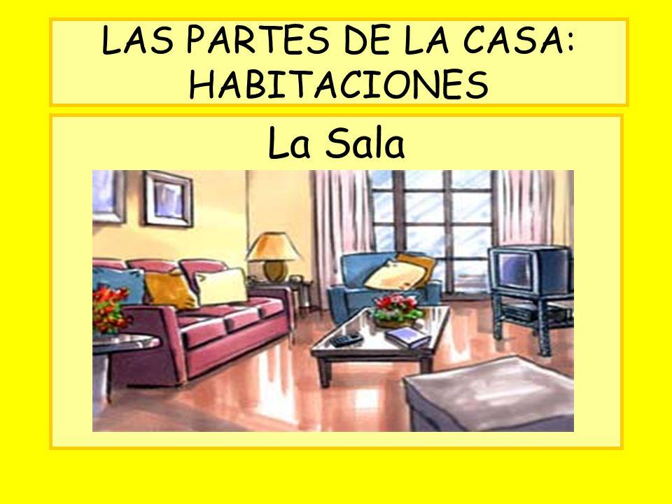 LAS PARTES DE LA CASA: HABITACIONES La Sala
