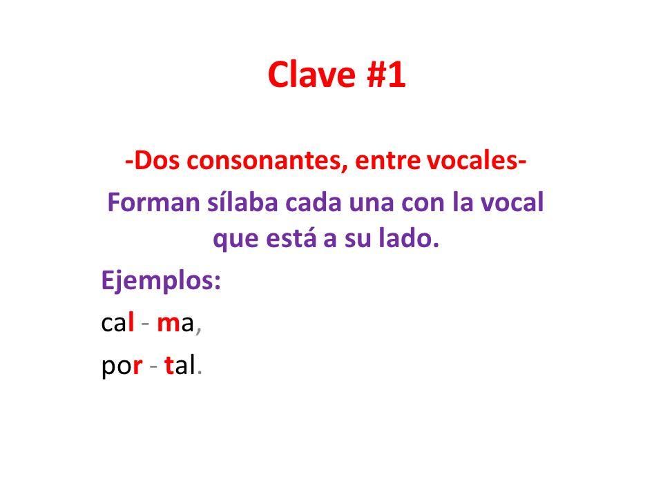 Clave # 2 Consonantes licuantes y líquidas En nuestro abecedario hay siete consonantes, B, C, D, F, G, P, T, que se llaman licuantes porque tienen la particularidad de fundirse íntimamente con las consonantes: L, R, que se denominan líquidas.