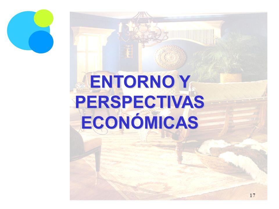 ENTORNO Y PERSPECTIVAS ECONÓMICAS 17