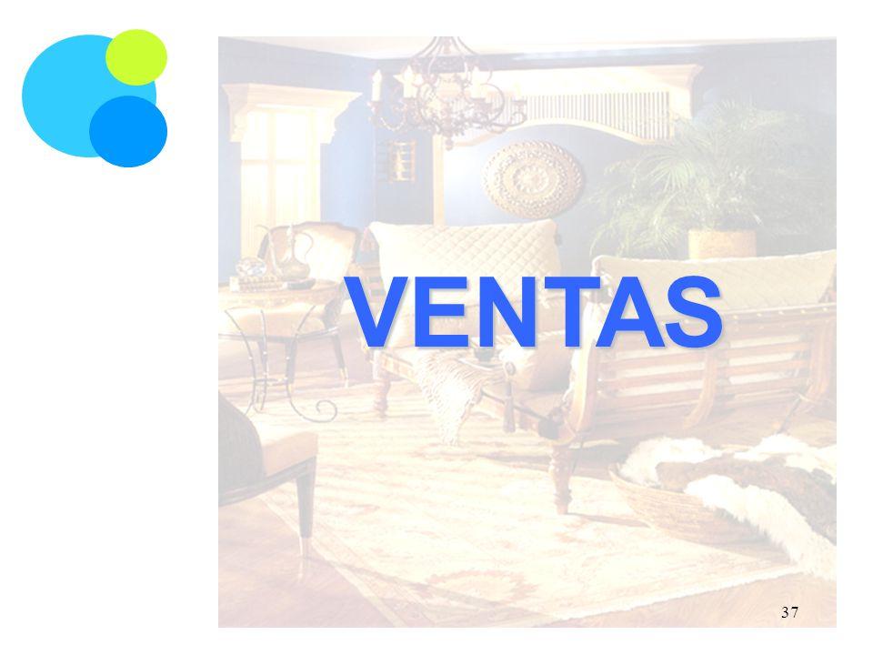VENTAS 37