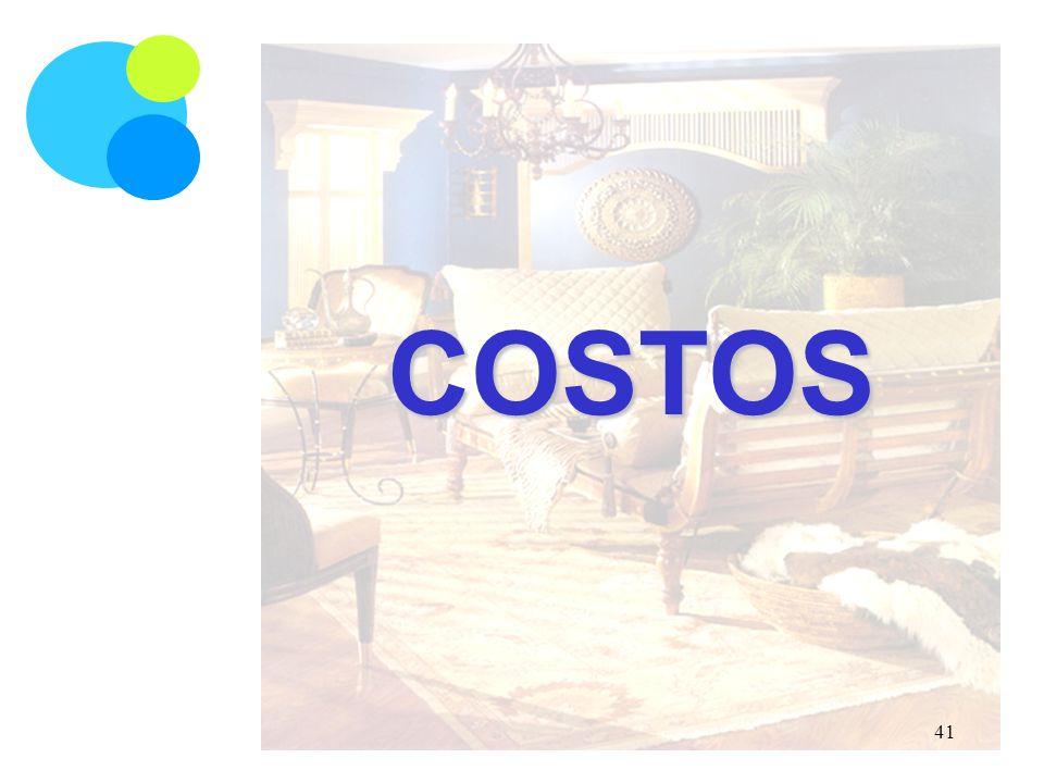 COSTOS 41