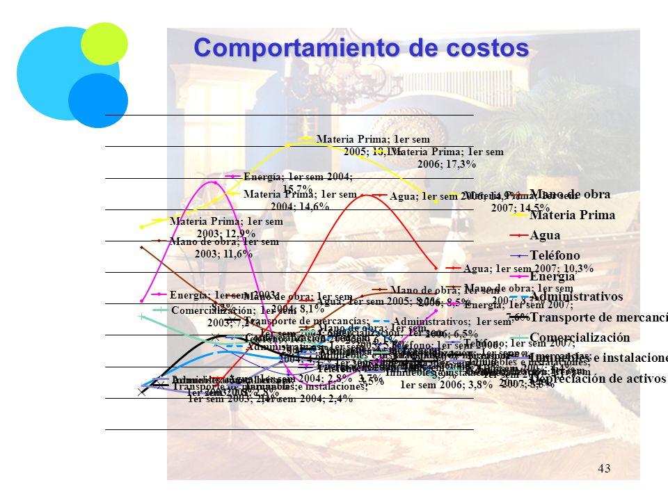 Comportamiento de costos 43