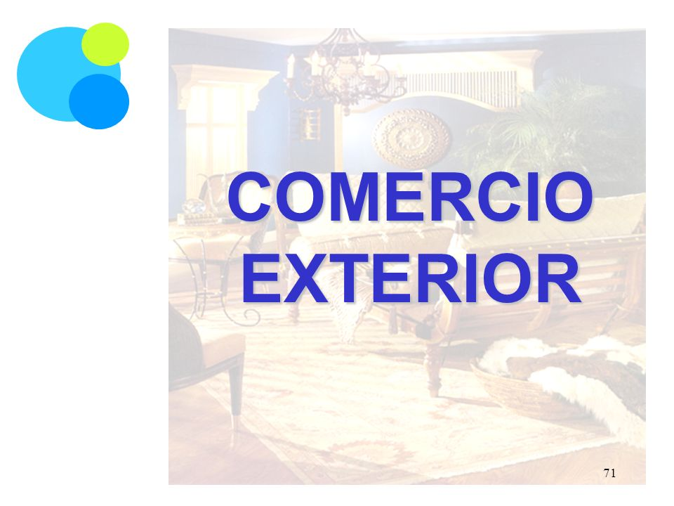 COMERCIO EXTERIOR 71