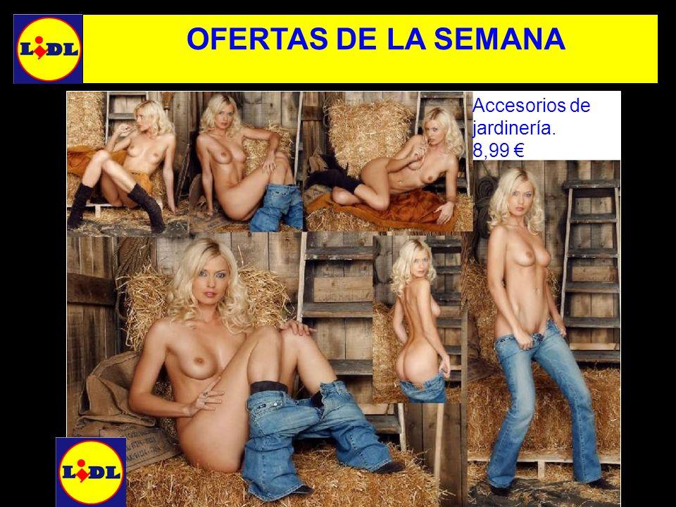 Accesorios de jardinería. 8,99 OFERTAS DE LA SEMANA