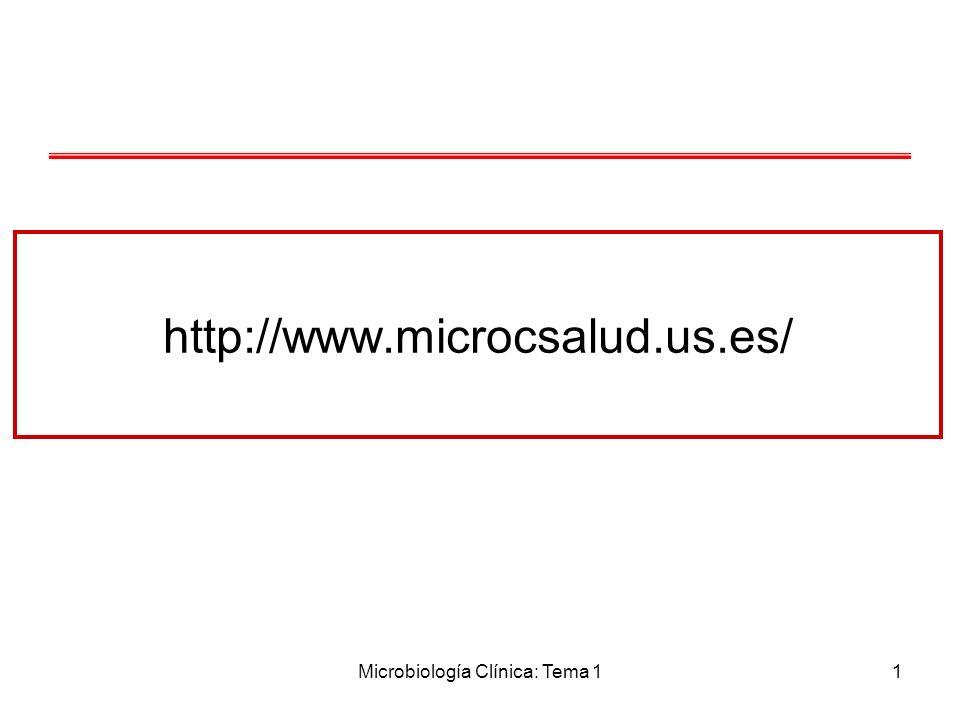 Microbiología Clínica: Tema 11 http://www.microcsalud.us.es/
