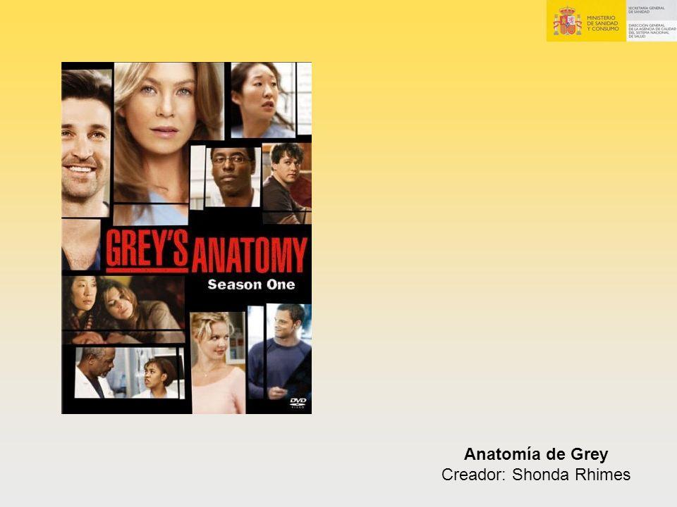 Anatomía de Grey Creador: Shonda Rhimes