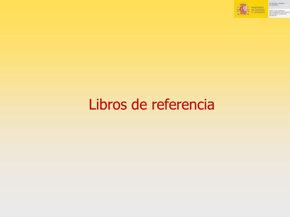 Libros de referencia