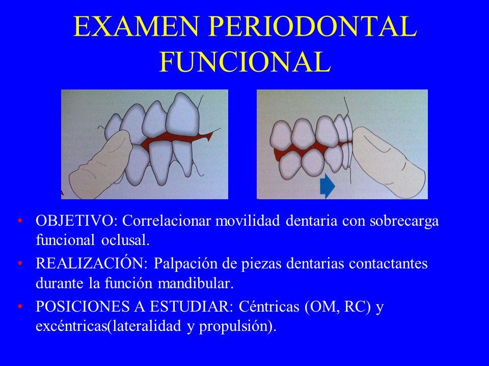 A.F.O.- ESTUDIO CLÍNICO. Amplitud del movimiento mandibular. Trayectoria de abre y cierre mandibular. Ruidos funcionales. Palpación muscular y articul
