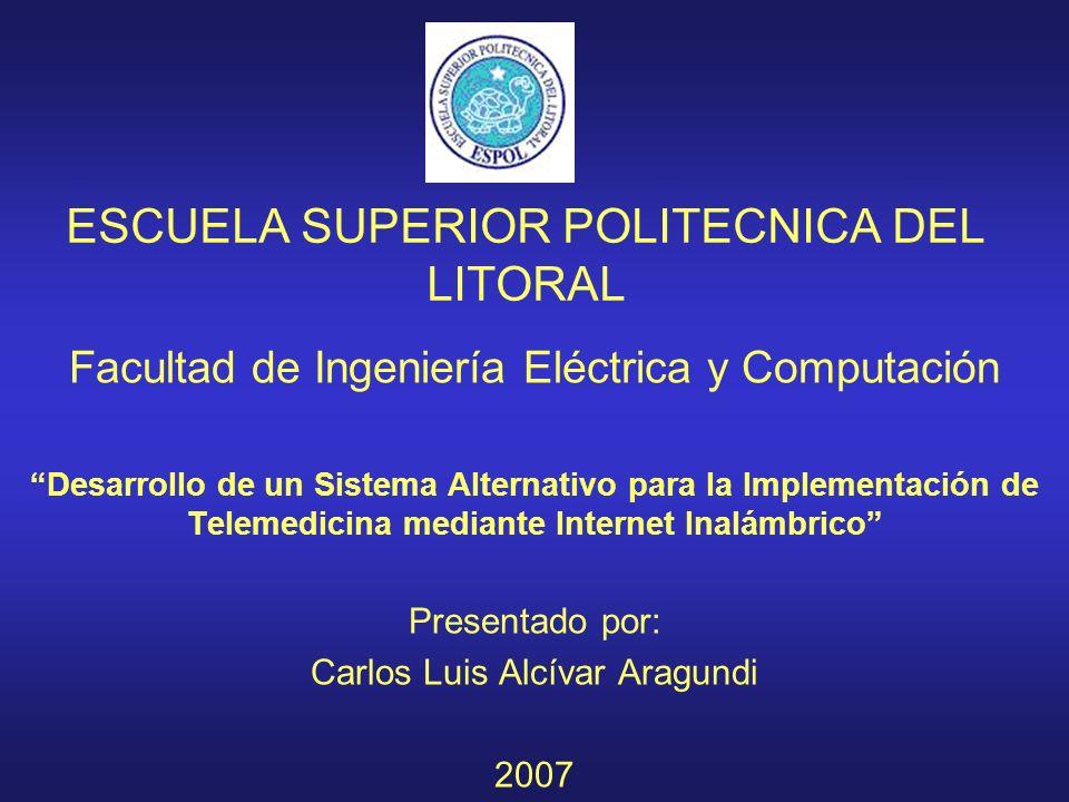 ESCUELA SUPERIOR POLITECNICA DEL LITORAL Facultad de Ingeniería Eléctrica y Computación Desarrollo de un Sistema Alternativo para la Implementación de