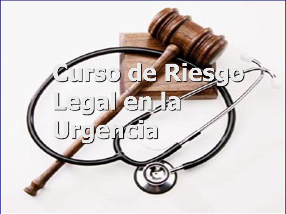Curso de Riesgo Legal en la Urgencia