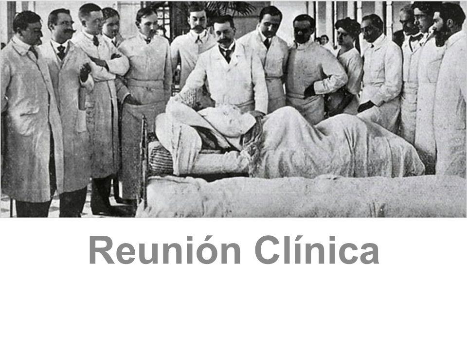 Reuniones Clínicas Sobre pruebas complementarias.fármacos.