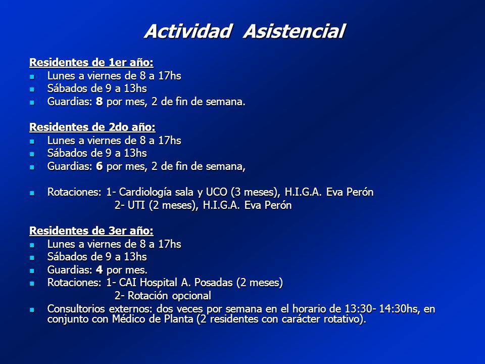 AMBITOACTIVIDADPLANIFICACIÒNOBJETIVO Consultorio externo Atención paciente ambulatorio 1 - 2 veces/sem.