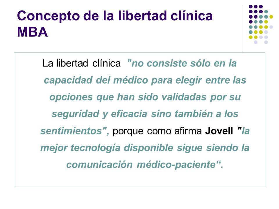 La libertad clínica
