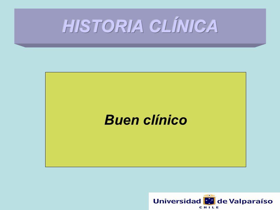 Historia Clínica y propósitos Varía de acuerdo a: –Los problemas del paciente.