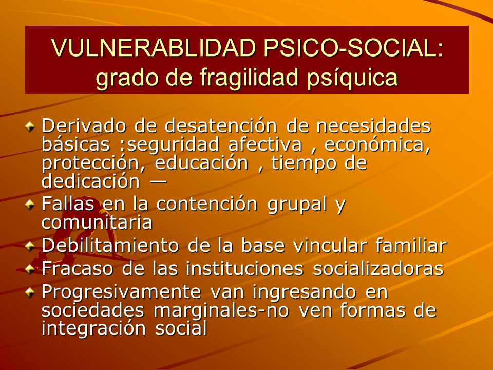 OBJETIVOS ESPECÍFICOS Integrar la prevención a objetivos comunes.